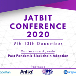 Jatbit 2020, Virtual Blockchain & Fintech Conference Set to Take Place This December