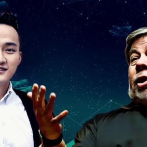 Justin Sun Tweets About Meeting Former Apple Co-Founder Steve Wozniak