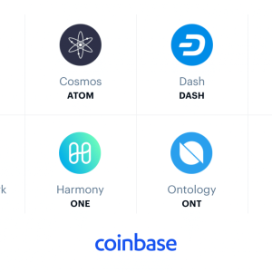 Coinbase Considering Addition of 8 New Digital Assets Including ATOM and DASH