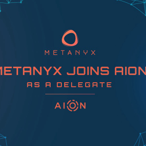 Metanyx Unites With AION Network to Provide Staking Pool