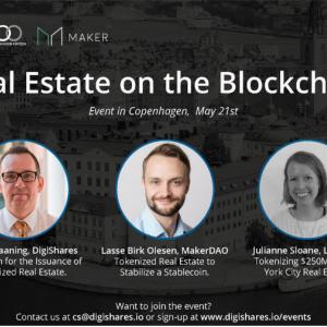 Real Estate on the Blockchain Copenhagen, May 21st