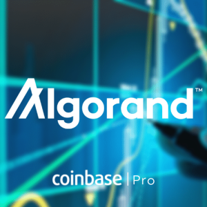 Coinbase Pro to Add Trading Support for Algorand Token