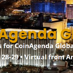 CoinAgenda Global Announces First Virtual Conference for Bitcoin & Cryptocurrency Investors and Entrepreneurs
