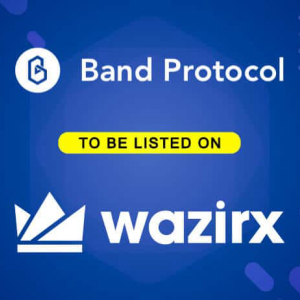 Band Protocol Gets Listed on Leading Indian Crypto Exchange WazirX, 58.53 BAND Tokens Up for Giveaway