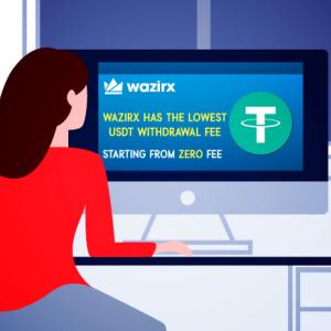 WazirX Holds The Lowest USDT Withdrawal Fee; It's ZERO