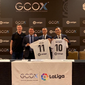 LaLiga Names GCOX As Its First Sponsor in Cryptocurrency and Blockchain Sector