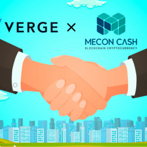Verge Crypto Enters Marketing Partnership With MeconCash