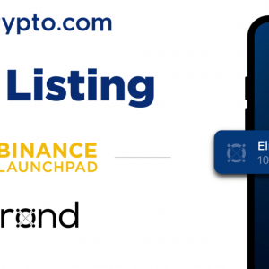 Crypto.com Enlists Binance Launchpad Backed Elrond's ERD Token, Now Available For Trade