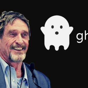 Don't Miss the Ghost Airdrop; John McAfee Gives Explanation
