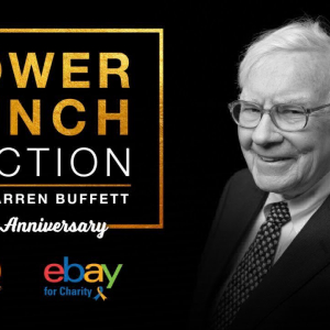 The 20th Annual eBay Power Lunch With Warren Buffett Will Take Place In San Francisco