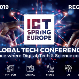 ICT SPRING 2019: FinTech Summit will be held on May 21st & 22nd