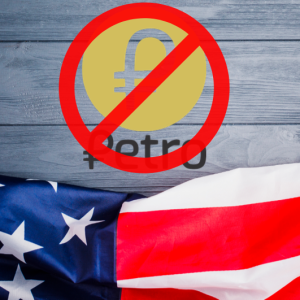 US President Donald Trump Bans Petro Cryptocurrency