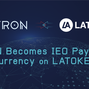 The IEO Launchpad Latoken Partners With Tron