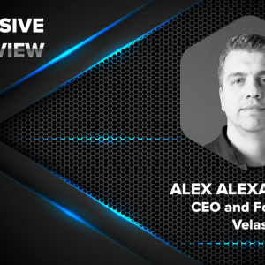 Velas' CEO and Founder Alex Alexandrov in an Exclusive Interview With CryptoNewsZ