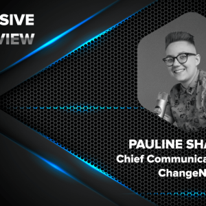 Pauline Shangett, Chief Communication Officer (CCO) of ChangeNOW in an exclusive interview with CryptonewsZ