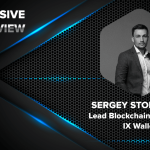 IX Wallet, Lead Blockchain Developer, Sergey Storozhuk Was Recently Interviewed By CryptoNewsZ About The Crypto World, IX Ecosystem And More
