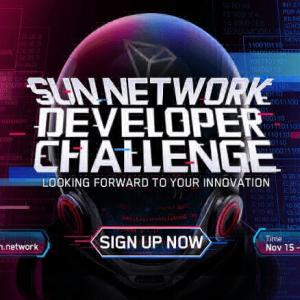 TRON Starts Registration Process for the Sun Network Developer Challenge