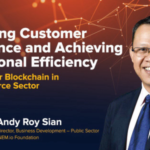 NEM Blockchain Technology And Its Uses In E-commerce Sector, To Improve Productivity And Sustainability In Malaysian Business