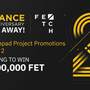 Binance Partners with Fetch to Giveaway FET Tokens Worth 1.2 Million