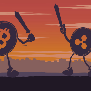 Bitcoin Vs. Ripple: Ripple (XRP) Replicates Bitcoin's (BTC) Volatility; Eyes On Support Level