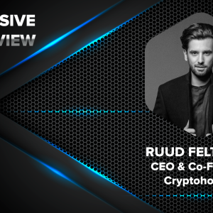 Cryptohopper's CEO and Co-founder, Ruud Feltkamp in an Exclusive Interview with CryptoNewsZ
