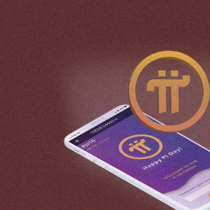 Pi the first with cryptocurrency mining on mobile concept