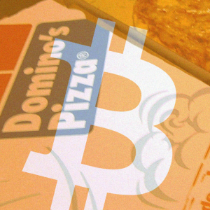 Dominos giveaway includes Bitcoin and fiat cash in France