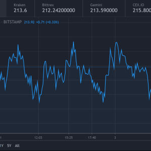 Bitcoin Cash Price: rests near $214