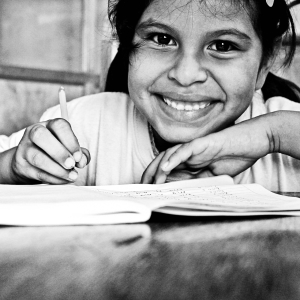What can be done for out-of-school children, globally?