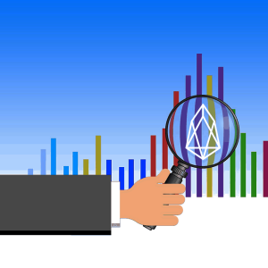 EOS price in an ascending channel with a resistance at $2.7
