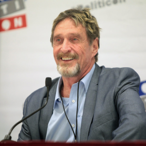 John McAfee supports Bakkt's Bitcoin futures platform yet he will not use it