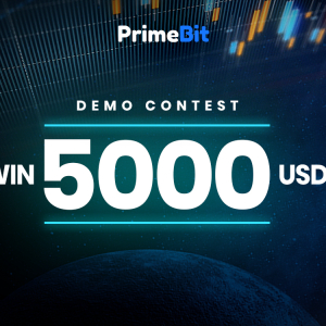 Win 5000 USDT by Trading Demo Funds with PrimeBit!