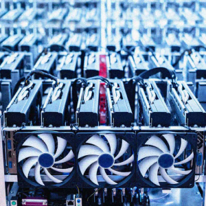 Bitcoin mining company shows boost in share value