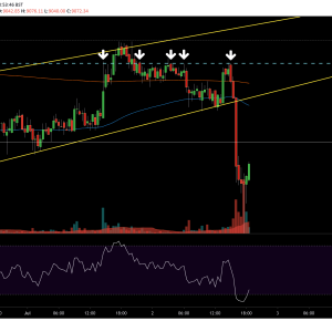 Bitcoin Price Analysis: BTC Plunges $300 in 2 Hours, Here's Why