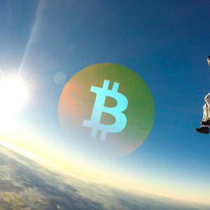 After the recent parabolic move, Bitcoin could be preparing to drop to $9600