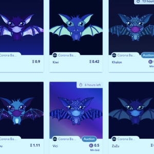 Corona Babies lets you collect digital bats infected with Coronavirus