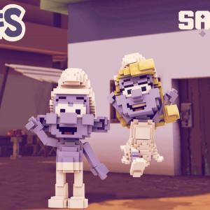 Smurfs Come to Crypto via The Sandbox Blockchain Game
