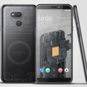 "HTC launches Exodus 1s ""cryptophone"""