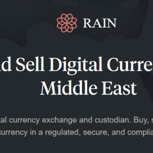 Ripple Inc Foothold in Middle East, Rain Now Supports XRP