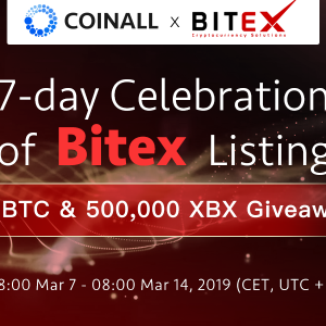 Crypto-banking Giant Bitex (XBX) Gets Listed on CoinAll