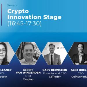Meet London Summit's Crypto Innovation Stage!