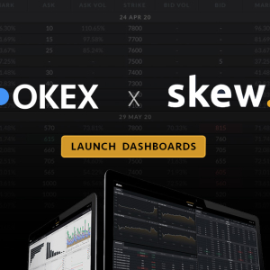 OKEx Adds 10 New Charts to its skewAnalytics Dashboard, Increases Transparency