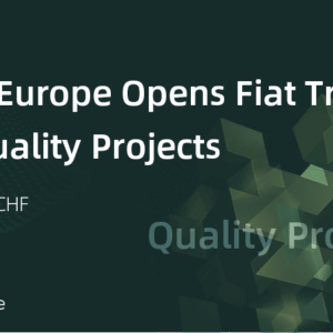 BiboxEurope Announces Yet Another Development – Fiat Trading for Quality Projects