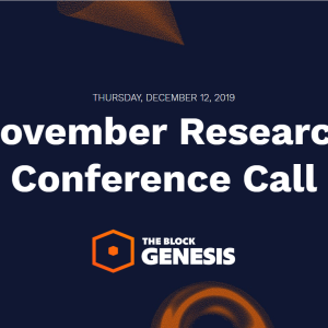 November Analyst Call: Transcript and Recording