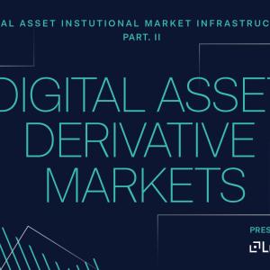 Institutional Digital Asset Derivatives Markets