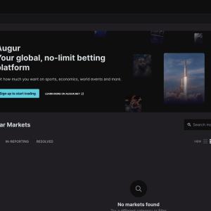 Open interest on Augur prediction markets passes $1M