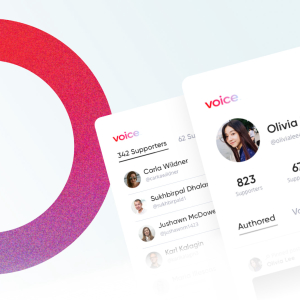 Block.one's social media app Voice has launched