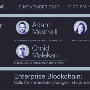 [SPONSORED] Enterprise Blockchain: Calls for immediate changes in future implementations — Presented by Unbound Tech