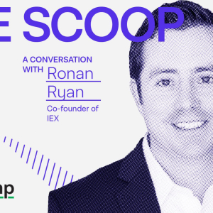 IEX co-founder Ronan Ryan on why bitcoin exchanges will eventually charge for market data