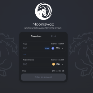 1inch launches automated market maker Mooniswap
